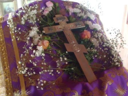 Воздвижение Креста Господня 2015