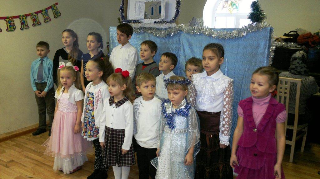 Детский праздник 9 января 2016