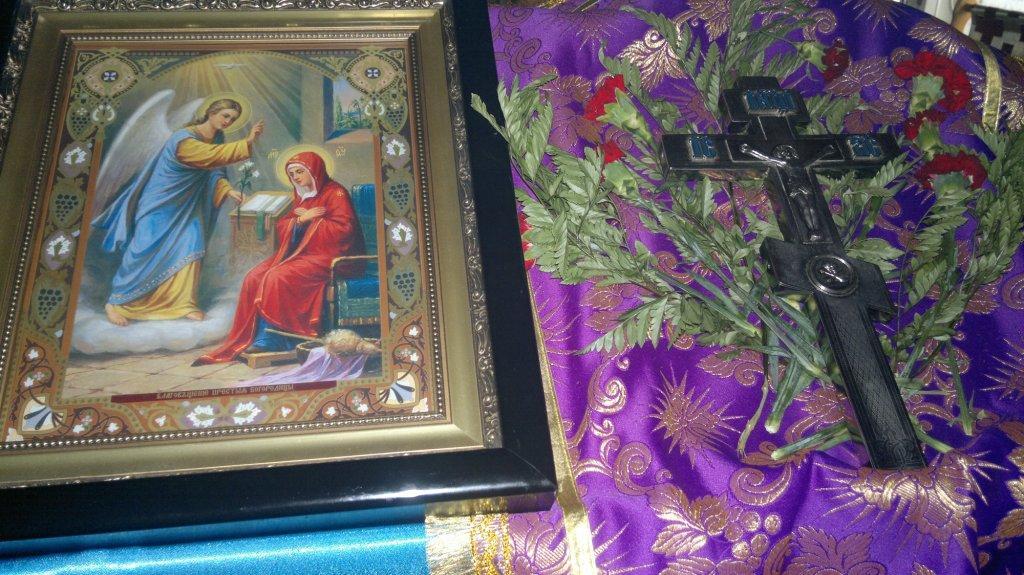 Благовещение Пресвятой Богородицы 2016