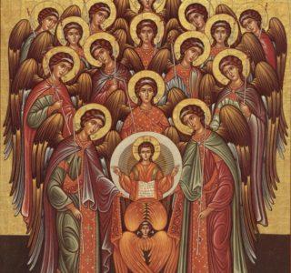 21 ноября — Собор Архистратига Михаила и прочих Небесных Сил бесплотных. Архангелов Гавриила, Рафаила, Уриила, Селафиила, Иегудиила, Варахиила и Иеремиила.